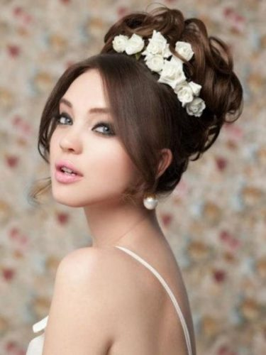 chignon mariage oriental numéro 5