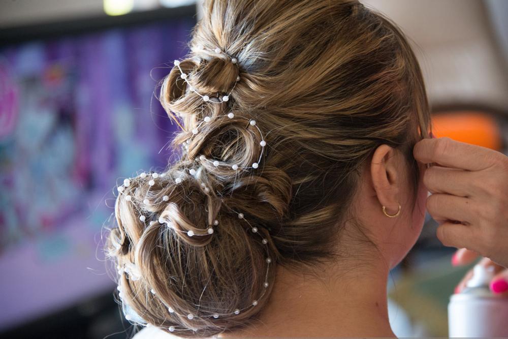 la coiffure pour un mariage oriental