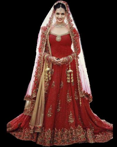lehenga-mariage-rouge